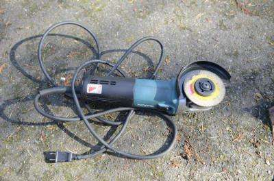 Bosch 125 Angle Grinder Adjustable