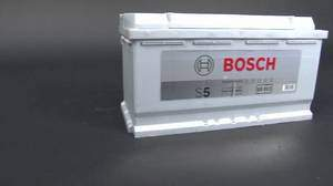 Bosch S5 Silver Plus Battery How to Charge