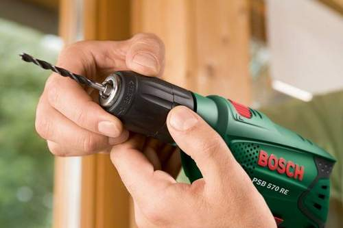 Bosch Screwdriver How to Insert a Drill
