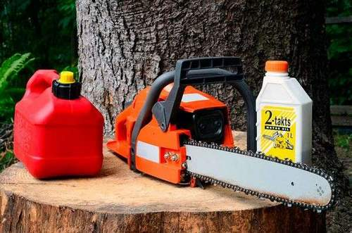Can Motor Oil For Chainsaws