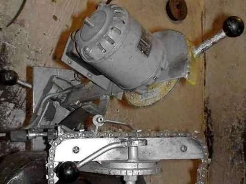 Chainsaw Sharpening Machine Installation