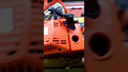 Chinese Chainsaw Starts And Stalls