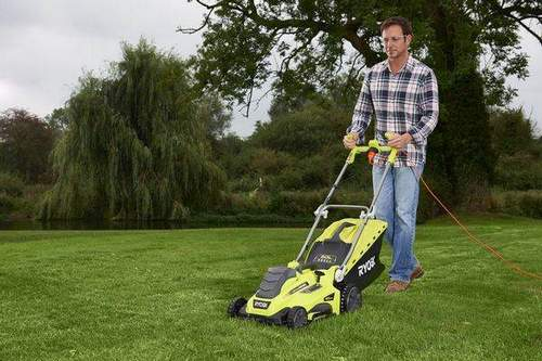 Features of the Operation of Electric and Battery Lawnmowers Ryobi