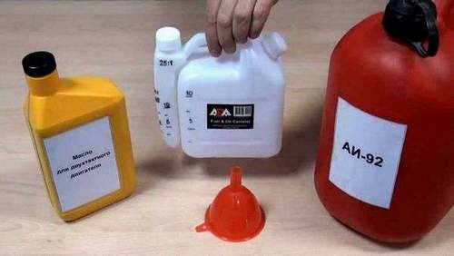 Gasoline Dilution Chainsaw Oil
