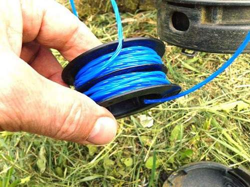 High Consumption Fishing Line On Patriot Trimmer