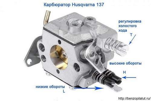 How to Adjust a Husqvarna Chainsaw Carburetor