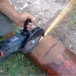 How to Cut a Propane Tank Angle Grinder
