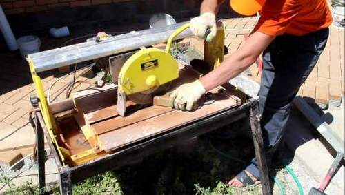 How to Cut Paving Slabs Angle Grinder