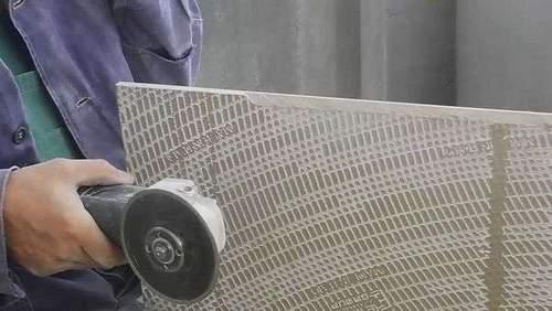 How to Cut Porcelain Tiles Under 45 Degrees