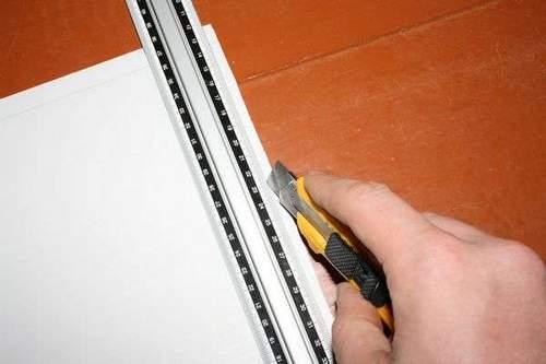 How to Cut Pvc Panels Across