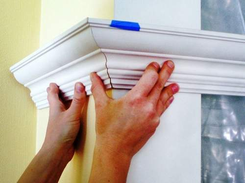 How to Cut Skirting Under 45