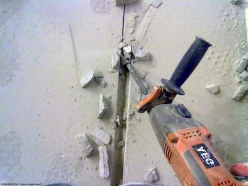 How to Ditch a Wall Angle Grinder Without Dust