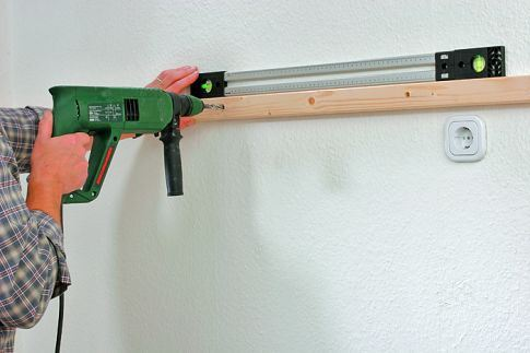 How to Drill a Concrete Wall Without a Punch