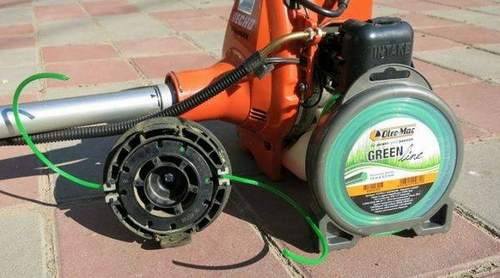 How to Fill a Fishing Line into a Mower