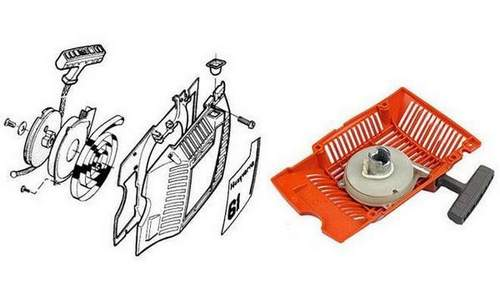 How to Install a Chainsaw Starter Spring