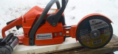 How To Make A Chain Saw From An Angle Grinder