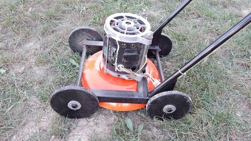 How to Make a Lawn Mower at Home