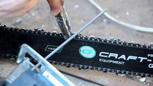 How to Quickly Sharpen Chainsaw Chain