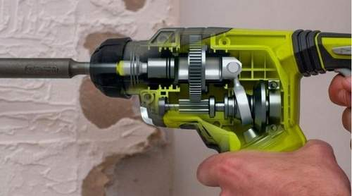 How to Remove the Metabo Rotary Hammer Switch