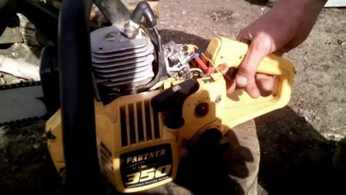 How To Set Up A Carburetor On A Partner 350 Chainsaw