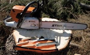 How to sharpen a chain on a chainsaw at home