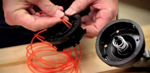 How to Wind a Fishing Line onto a Trimmer Reel: Ways to Winding And