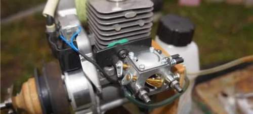Husqvarna 128r Trimmer Gear Lubricant Video