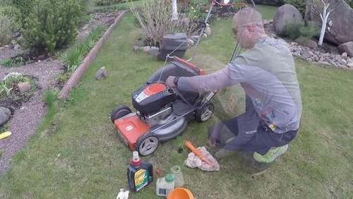 Husqvarna Lawnmower Oil Change