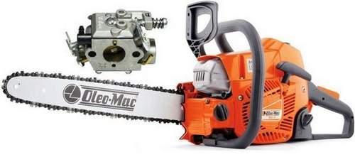 Oleo-Mac Chainsaw Carb Adjustment