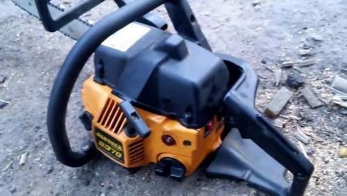 Partner 350 Chainsaw Starts And Stalls