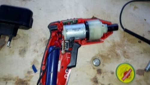 Remaking Cordless Screwdriver On Lithium