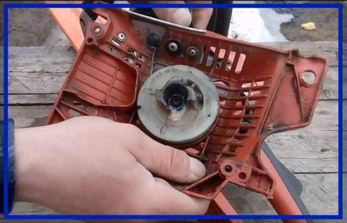 Replacing Dogs on a Chainsaw Flywheel