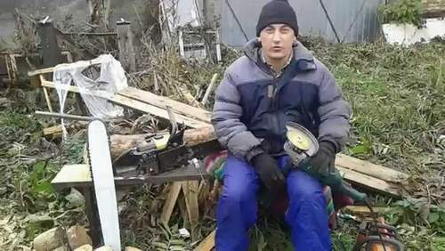 Sharpening Chainsaw Chains Home Simple And High Quality