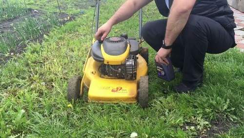 Stiga Lawn Mower Oil Change