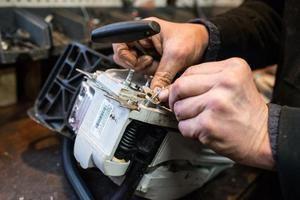Stihl 180 Gas Traction Installation