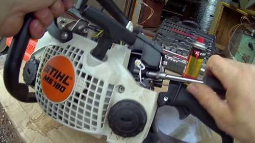 Stihl Ms 180 Chainsaw Poor Starts