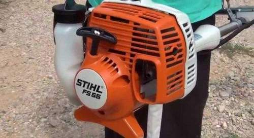 Stihl Trimmer How To Insert A Fishing Line