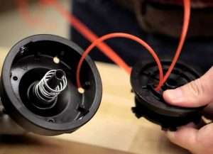 How To Get Fishing Line From A Trimmer Coil