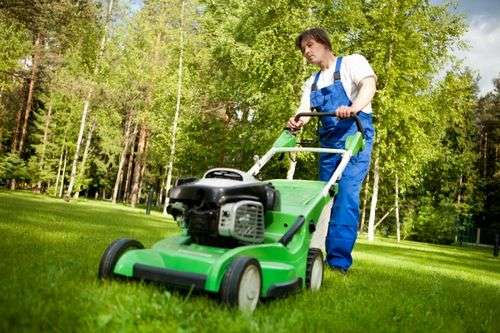 How To Mow Grass With A Manual Lawn Mower