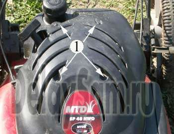 How To Ring A Coil On A Lawn Mower