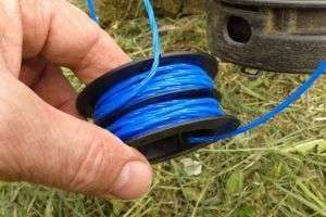 How To Fill The Electric Trimmer Fishing Line