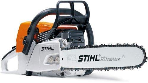 how to start a Stihl 180 chainsaw correctly