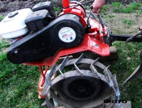 how to correctly adjust the tiller plow for plowing
