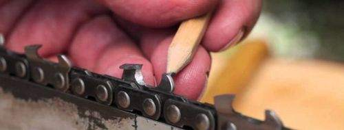 how to sharpen a chain from a chainsaw