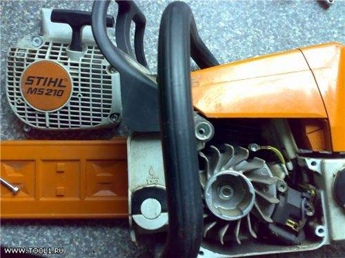 how to check the ignition coil on a Husqvarna chainsaw