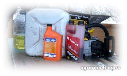 how to breed gasoline for a mower