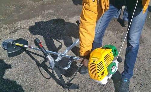 petrol braid won't start
