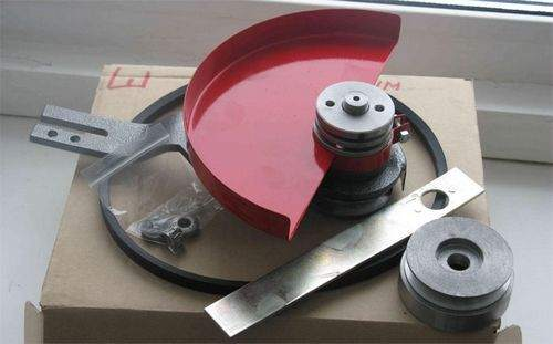 adapter for angle grinder for setting wheels