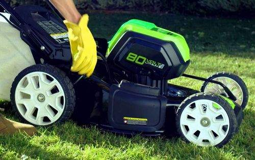 how to set up a lawn mower