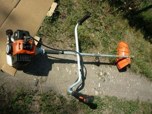 How To Start A Petrol Trimmer Huter